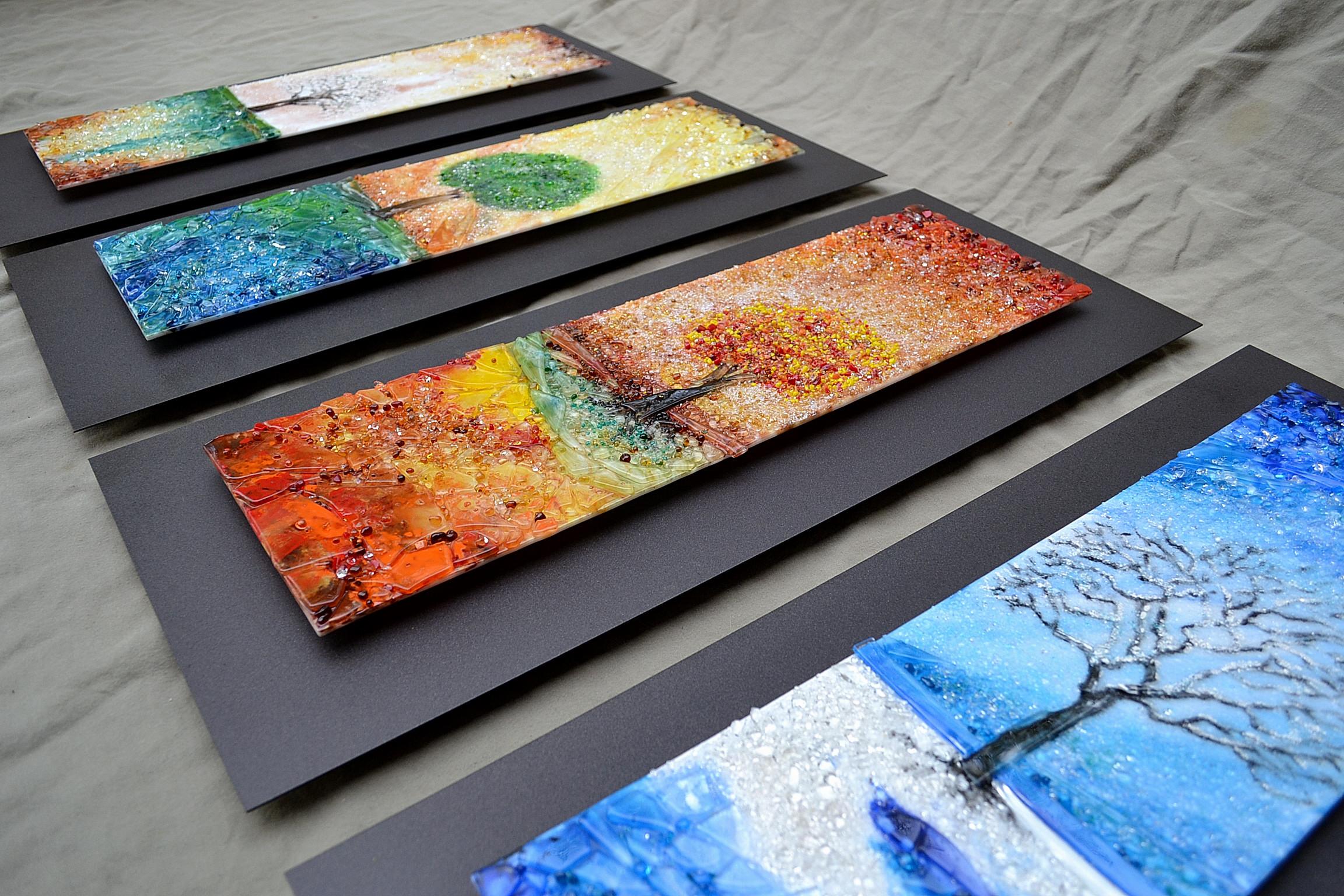 Lucas Krenzin – Fused Glass Art » Four Seasons